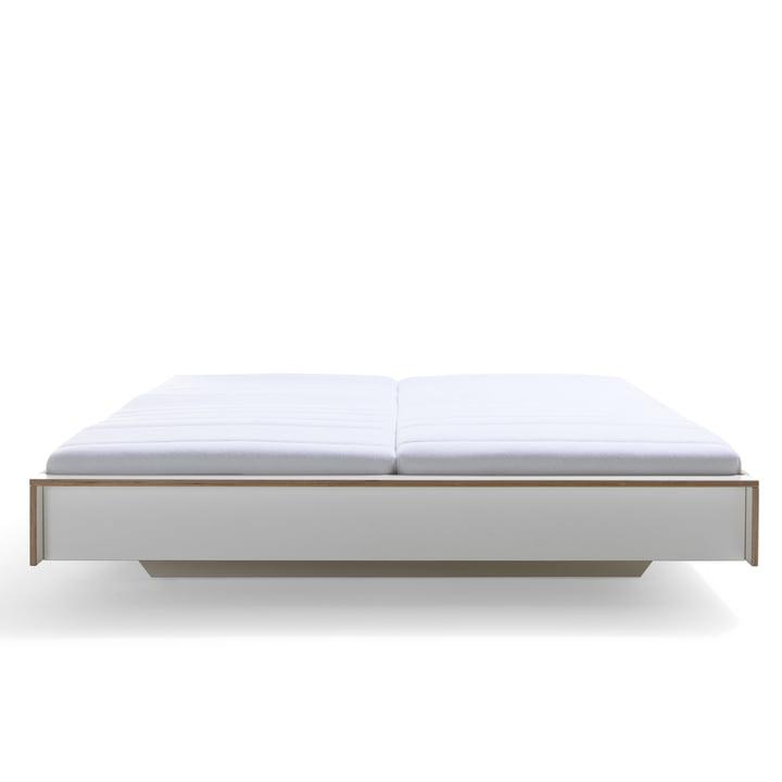 Müller Möbelwerkstätten - Flai bed, white