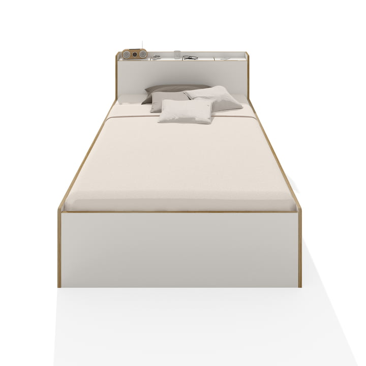 Müller Möbelwerkstätten - Nook Single Bed, white