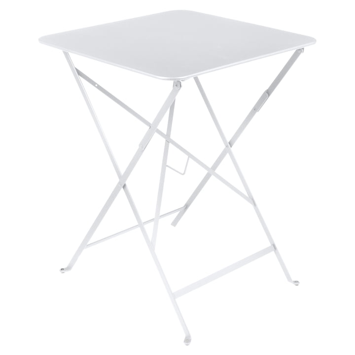 Fermob - Bistro folding table, 57 x 57, cotton white