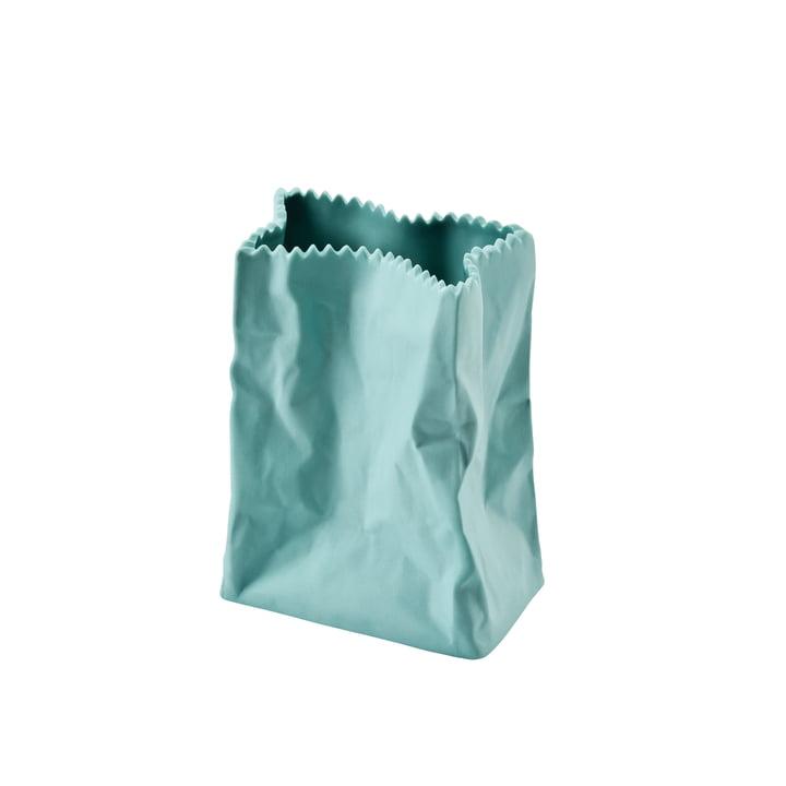 Rosenthal - Paper Bag Vase, 10 cm, mint