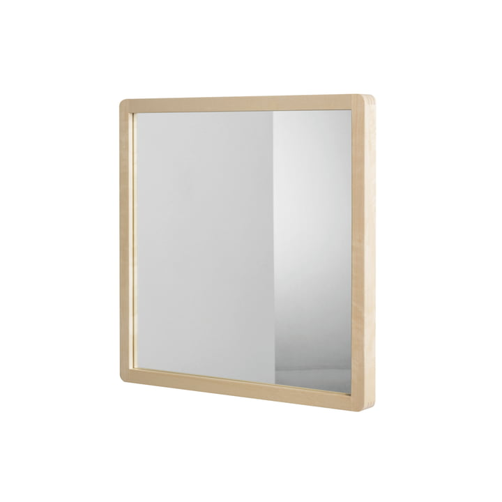 Artek - Mirror 192B, natural birch / transparent varnish