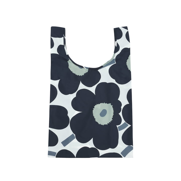 Marimekko - Shopping Pieni Unikko bag, white / black