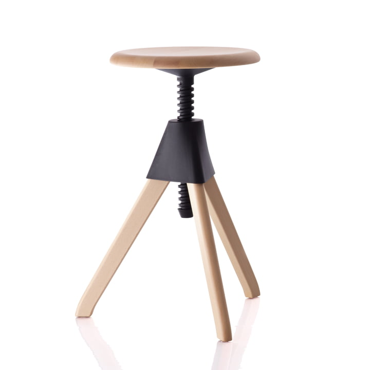 Magis - Jerry The Wild Bunch Stool (50-60cm), black