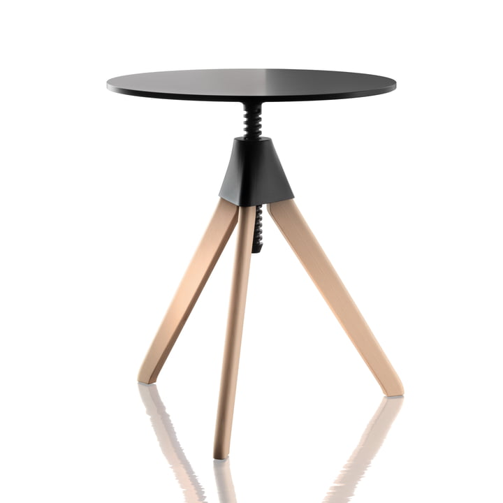 Magis - Topsy The Wild Bunch Side Table, natural beech / black