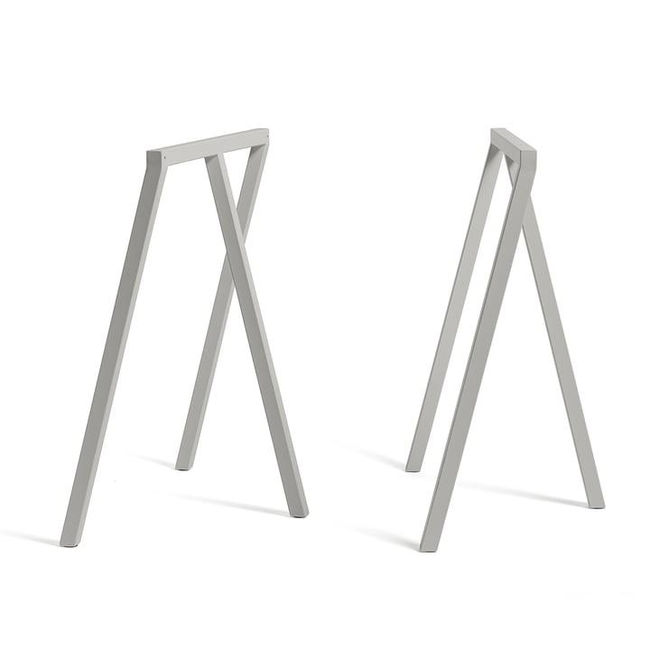 Hay - Loop Trestle Stand Frame, grey (2 pcs.)