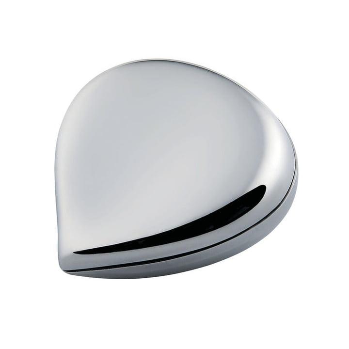 Alessi - Chestnut Pillbox, stainless steel