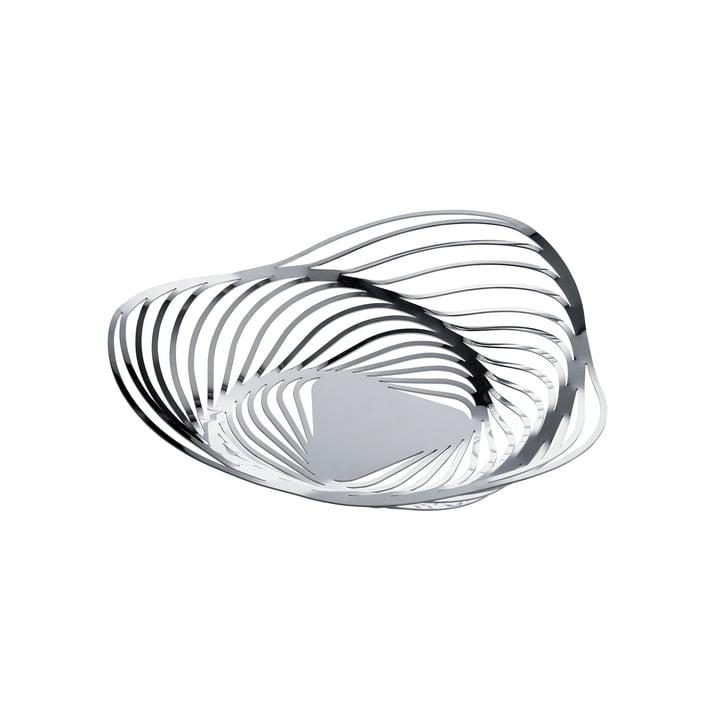 Alessi - Trinity Basket, Ø 26 cm, stainless steel