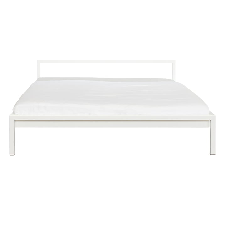 White Pure Bed by Hans Hansen