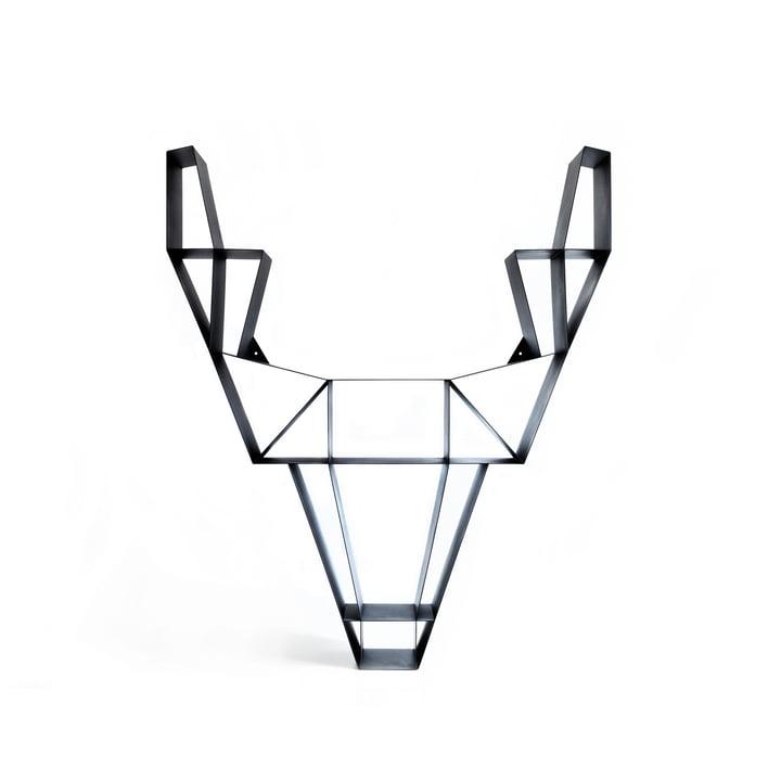 BeDesign - Deer metal small, black