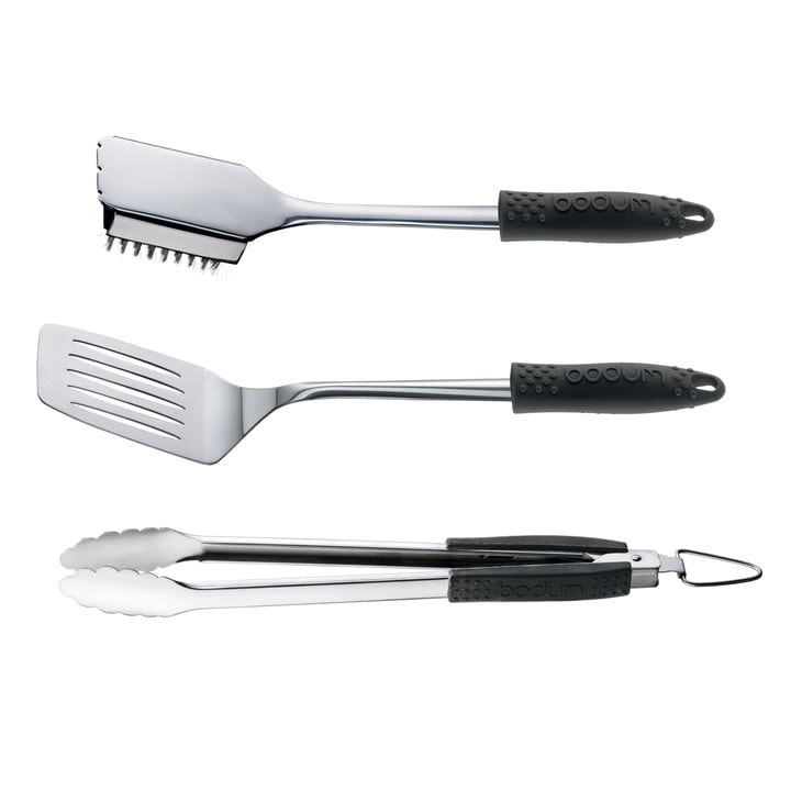 Bodum - Fyrkat Barbecue Accessory Set, black