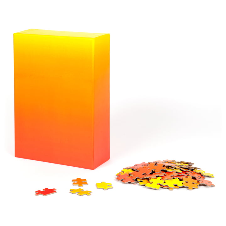 Areaware - Gradient Puzzle, red / yellow