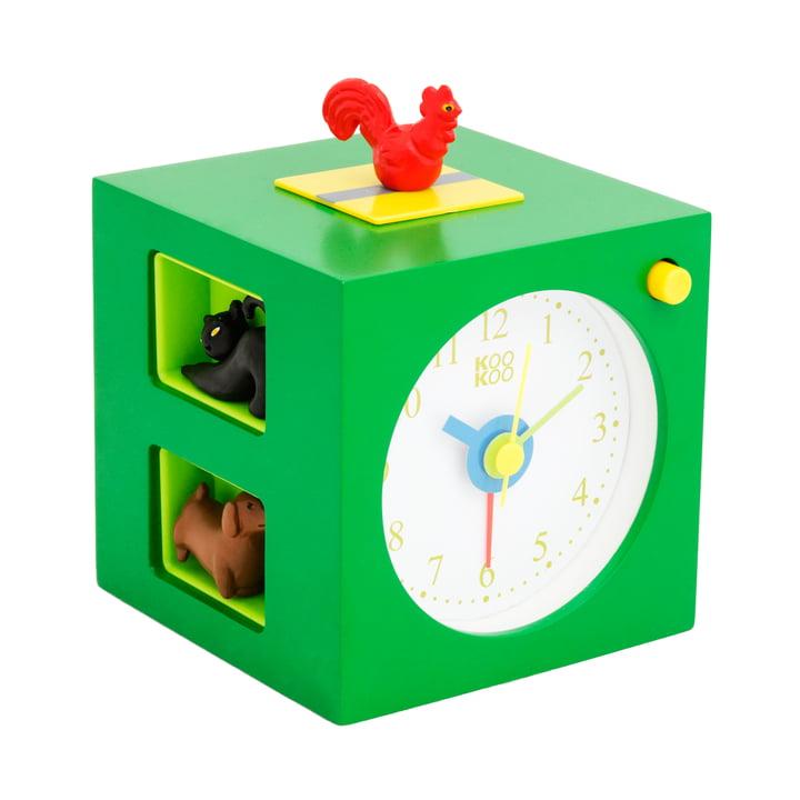 KooKoo - KidsAlarm, green