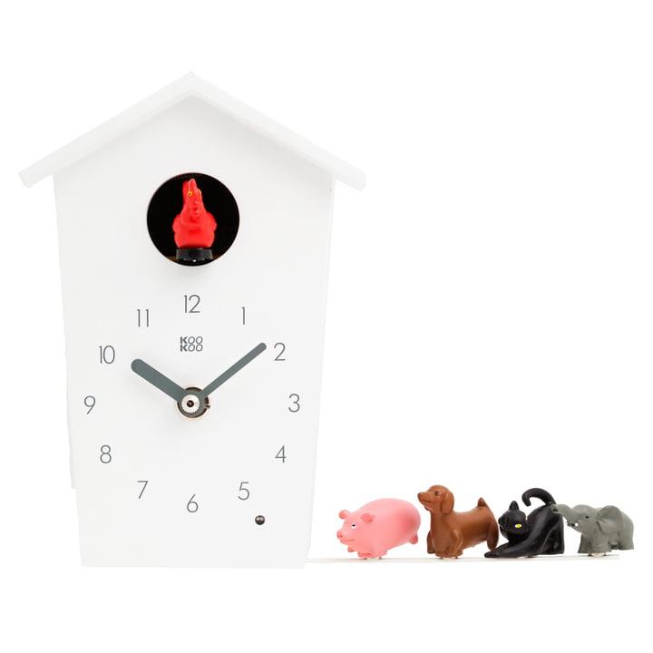 KooKoo - Animal House, white