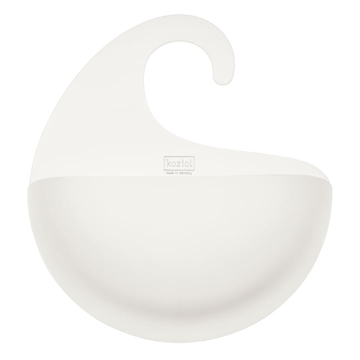 Koziol - Surf Bath Utensilo with Hook XL, white