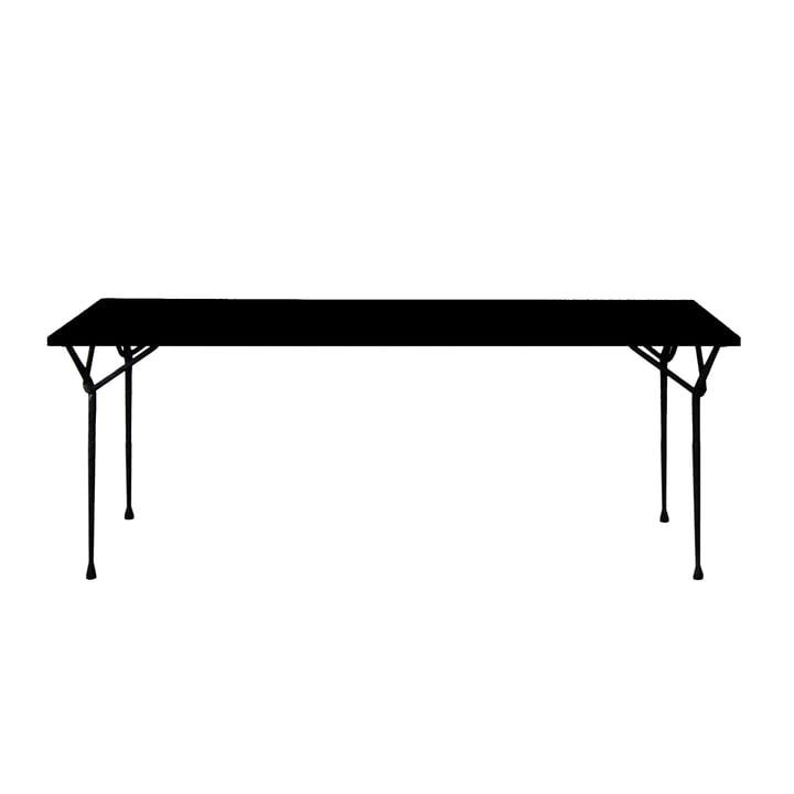 Magis - Officina dining table 200cm, black / black