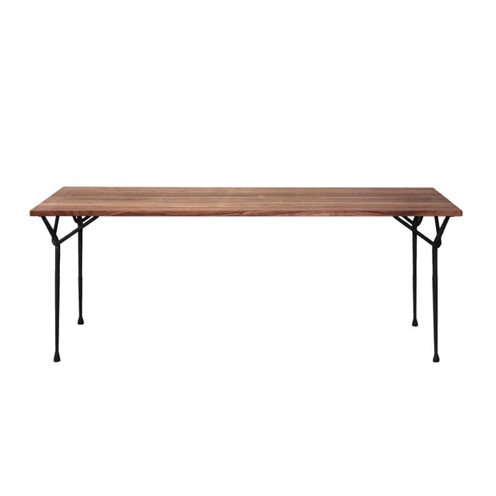 Magis - Officina dining table 200cm, black / ash wood