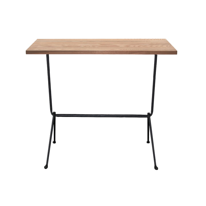 Magis - Officina Console 120 x 40 cm, black / walnut