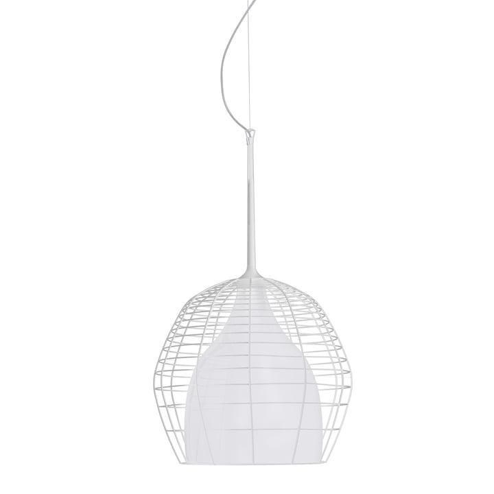 Diesel Living - Cage Pendant Light large, white / white