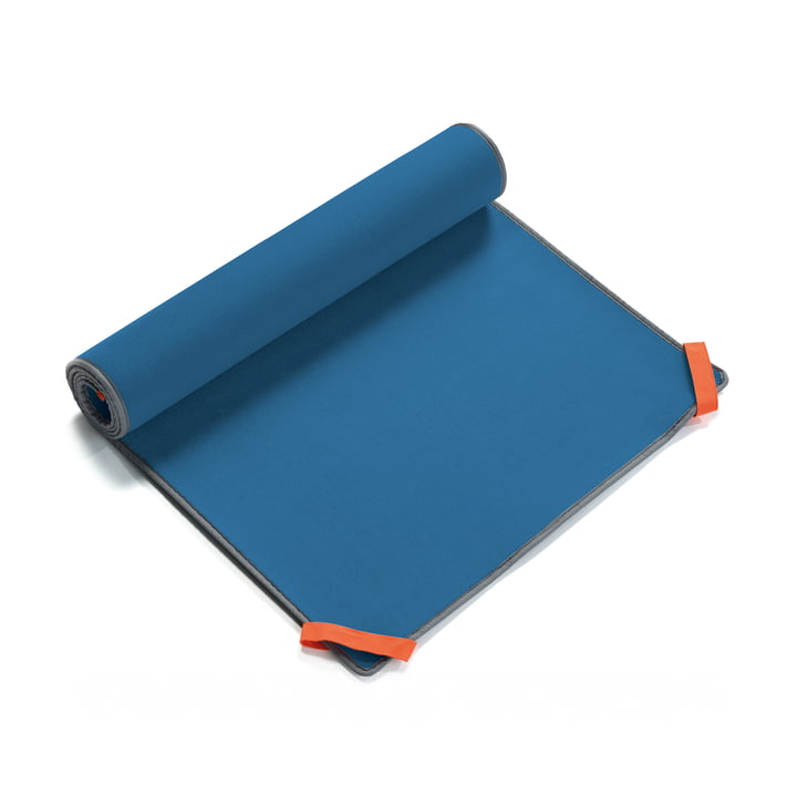 Tehe Moe Beach Mat by Terra Nation in blue