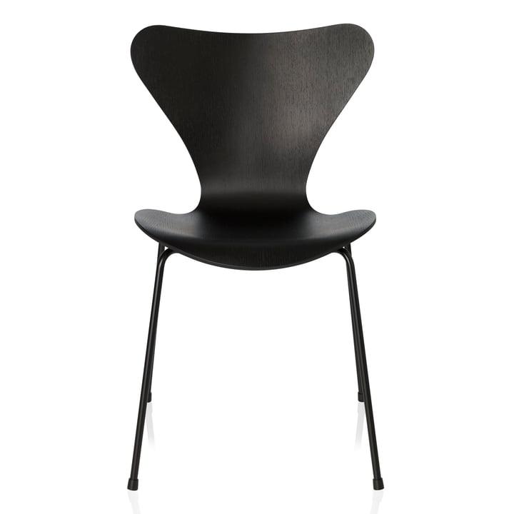 Fritz Hansen - Series 7 Chair, monochromatic black, 46.5 cm