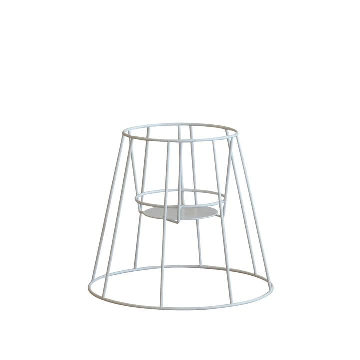 OK Design - Cibele Flowerpot Stand small, white
