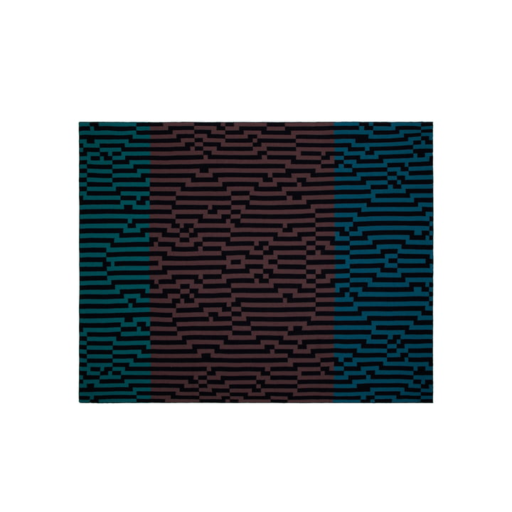 Zuzunaga - Zoom Out 1 Woollen Blanket, 140 × 180 cm
