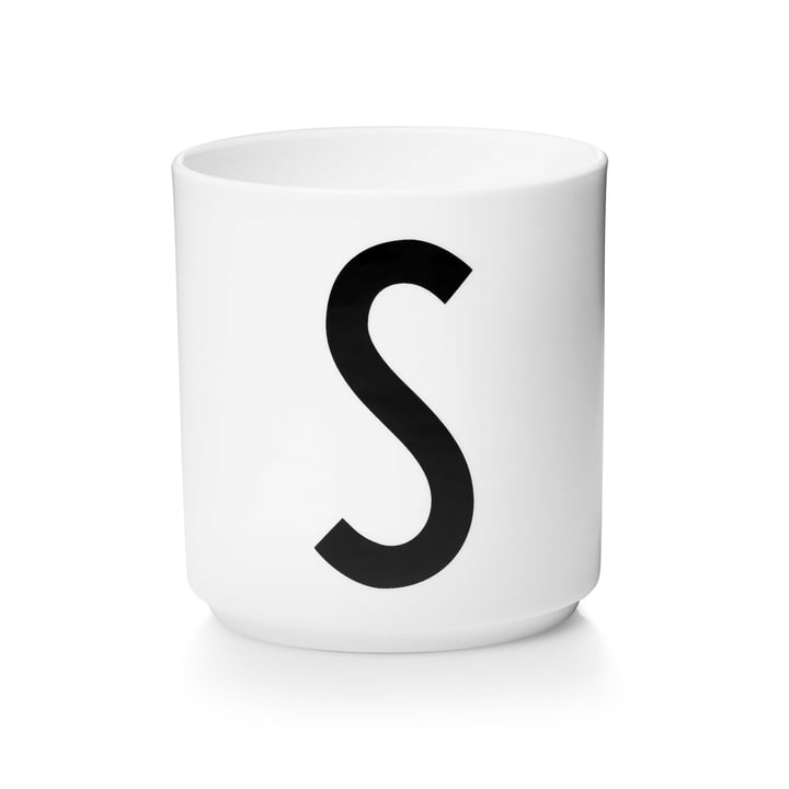 Design Letters - AJ Porcelain Cup S