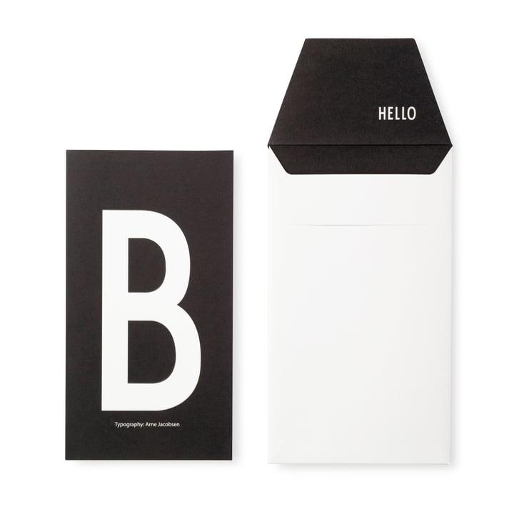 Design Letters - AJ Postcard B