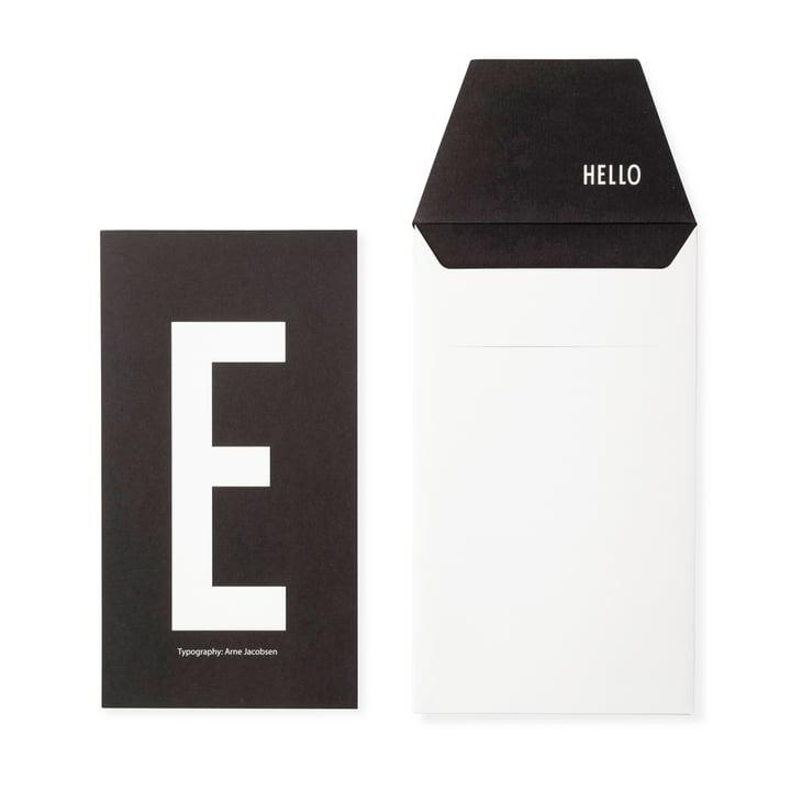 Design Letters - AJ Postcard E