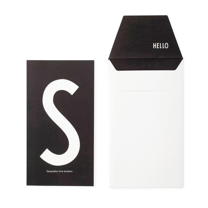 Design Letters - AJ Postcard S