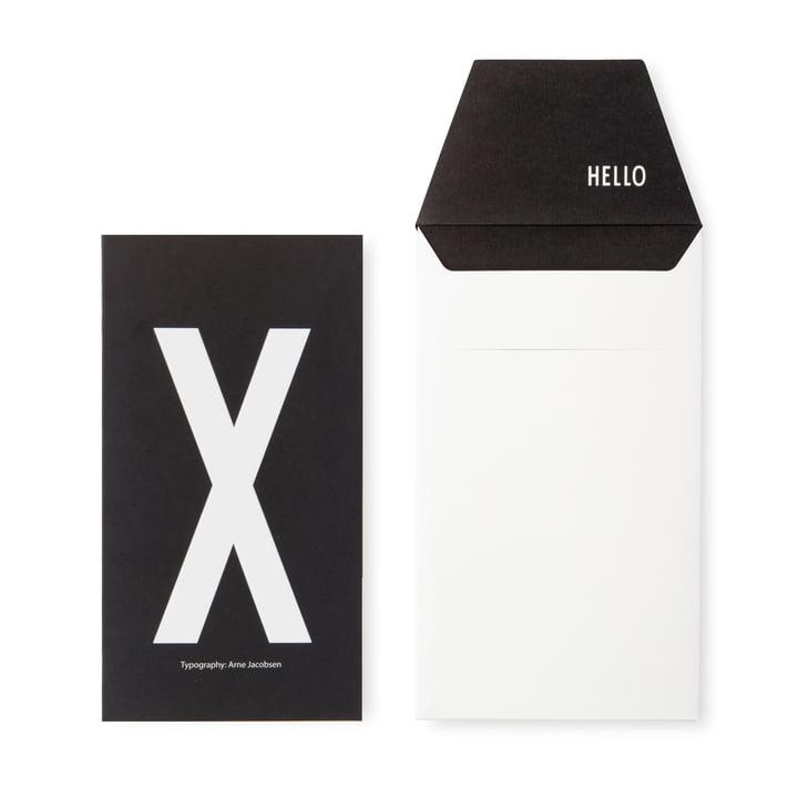 Design Letters - AJ Postcard X