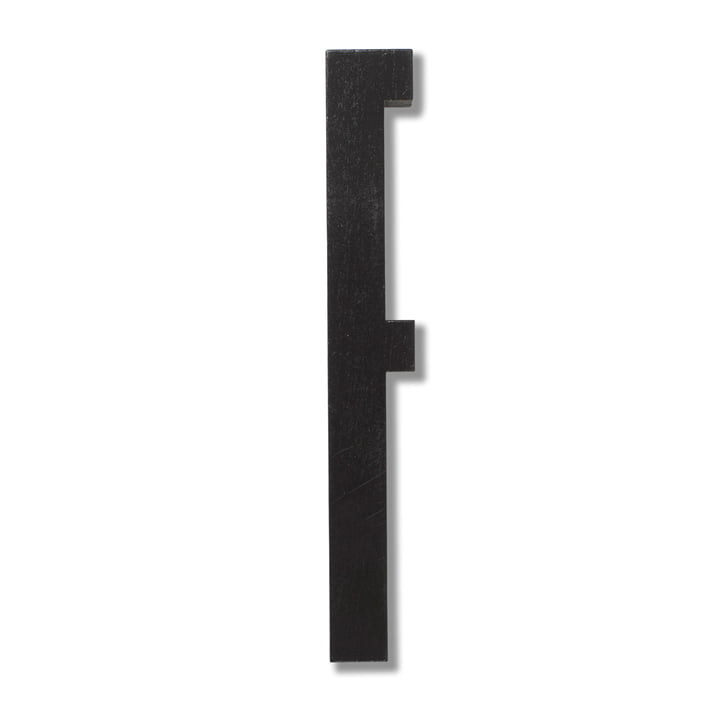 Wooden Letters Indoor F by Design Letters in Black