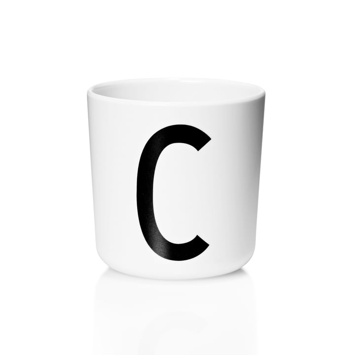Design Letters - AJ Melamine Mug C