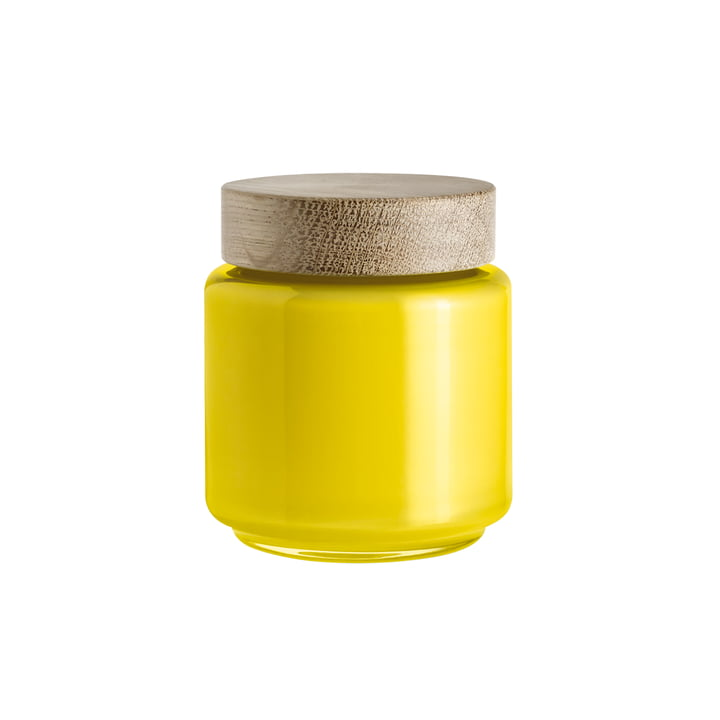 Holmegaard - Palet Storage Jar, yellow, 0.5 l