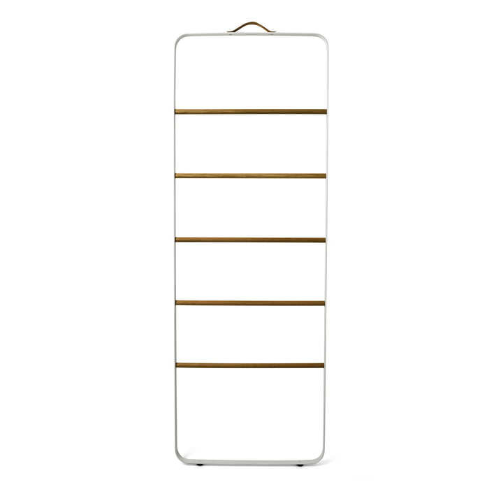 Menu - Towel Ladder, white / light oak