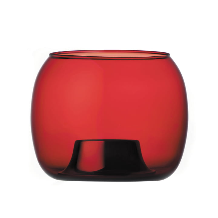 Iittala - Kaasa tea light holder 141 x 115 mm, cranberry