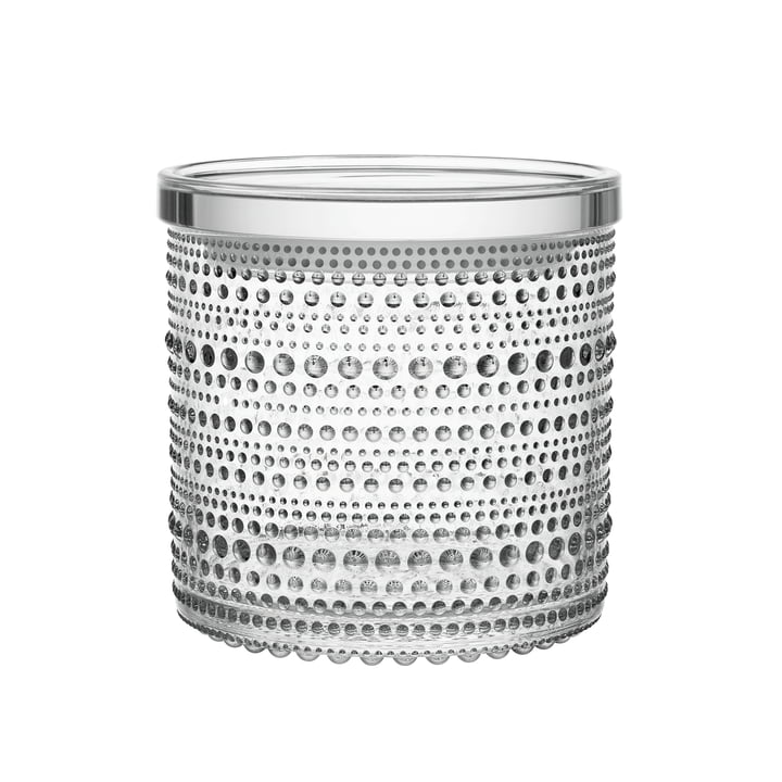 Kastehelmi Storage tin 116 x 114 mm from Iittala clear glass