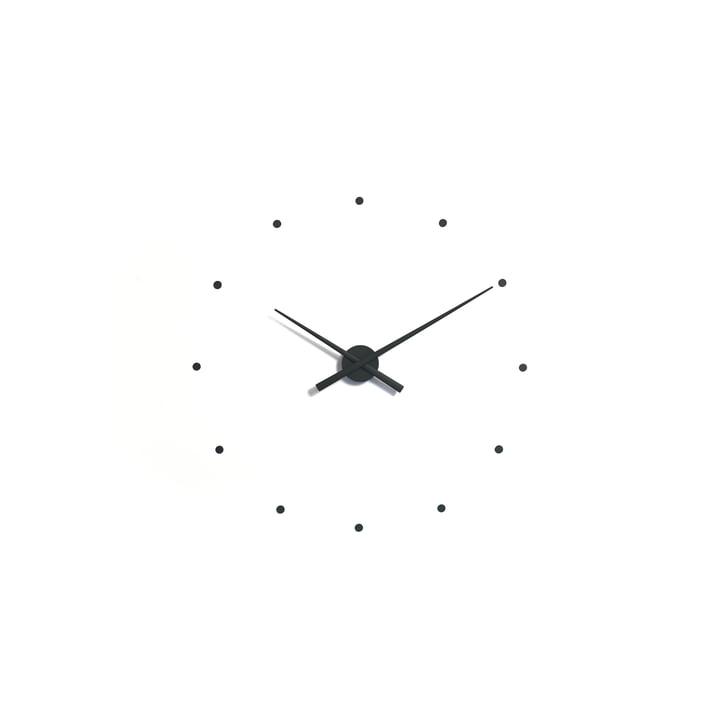 OJ mini wall clock by nomon in black