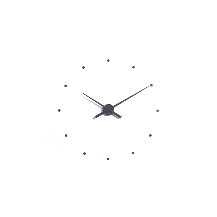 OJ mini wall clock by nomon in grey