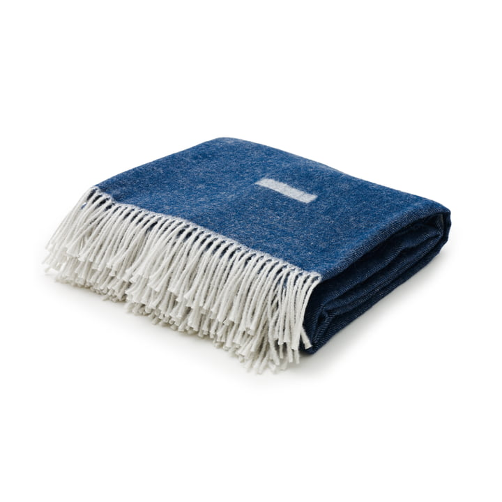Iota Blanket from Skagerak in Royal Blue