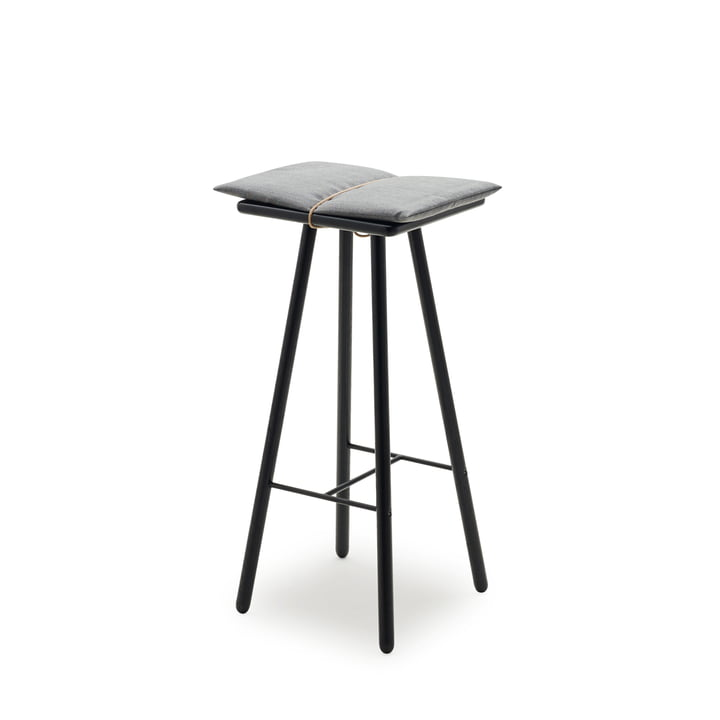 Skagerak - Georg bar stool in black