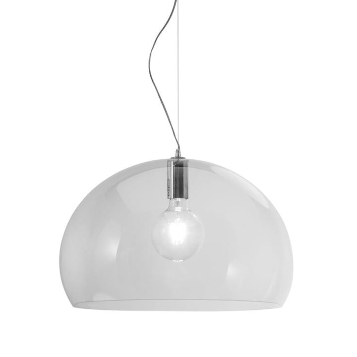 Kartell - FL/Y Pendant Lamp, crystal