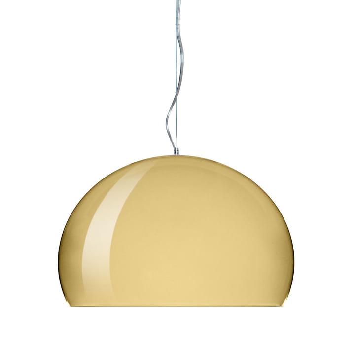 Kartell - FL/Y Pendant Lamp, gold