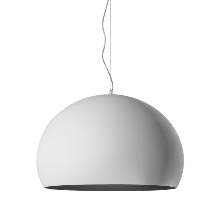 Kartell - FL/Y Pendant Lamp, matte opal / white
