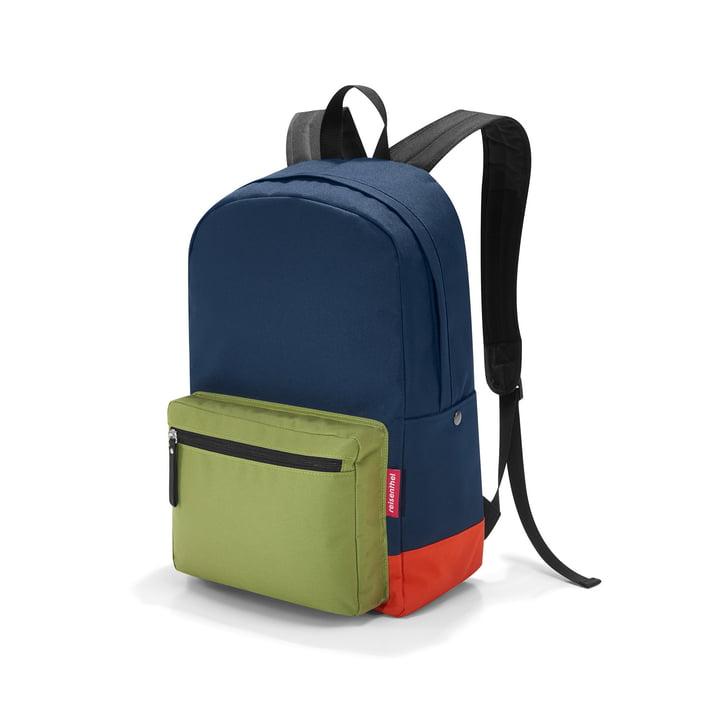 reisenthel - rucksack 2, patchwork navy
