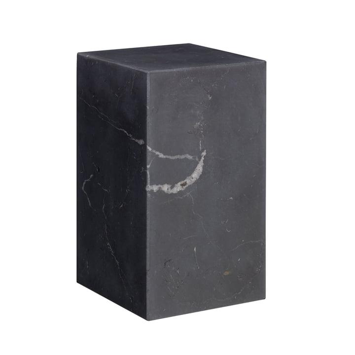 e15 - AC11 Stop Bookend H 17 cm in black