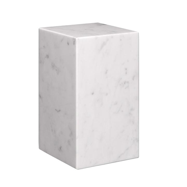 e15 - AC11 Stop Bookend H 17 cm in white