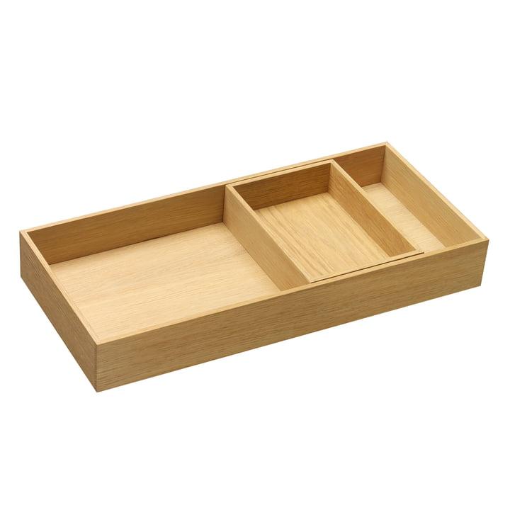 e15 - CM07 Open Tray made of waxed oak