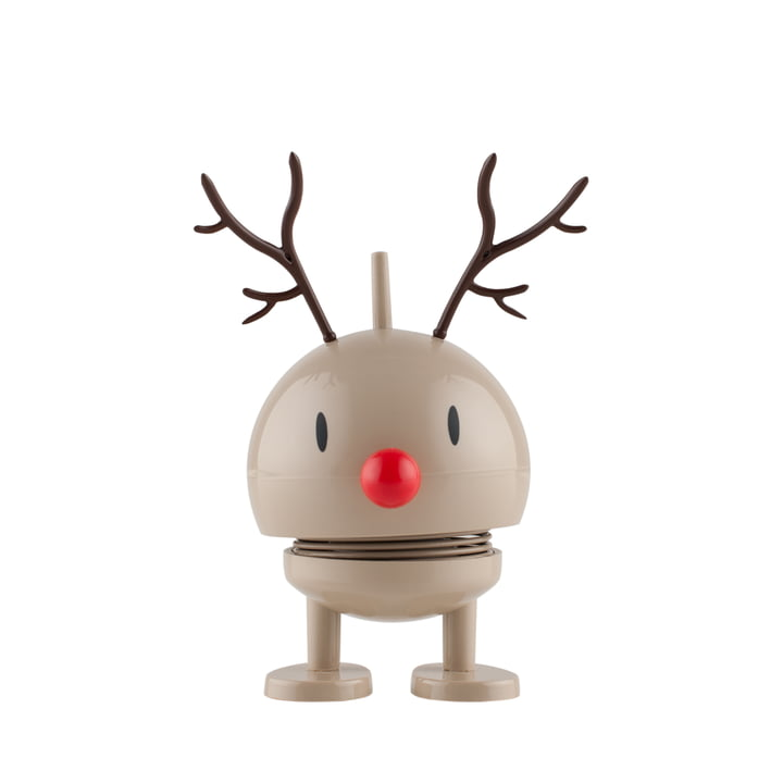 Hoptimist - Reindeer Baby Bumble Rudolf short