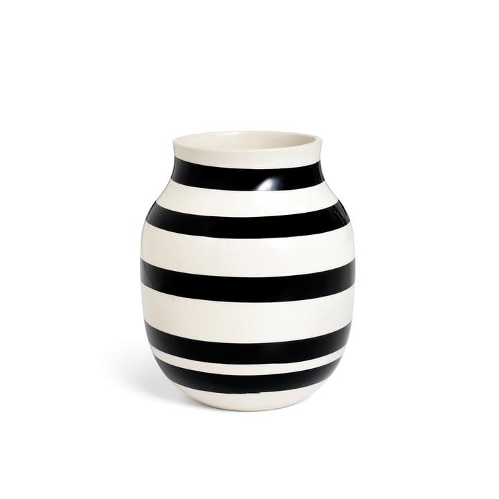 Omaggio Vase H 200 from Kähler Design in black